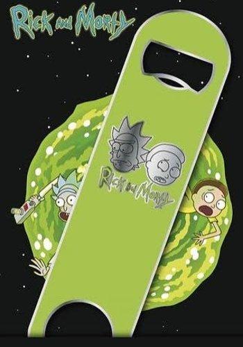 Rick and Morty Logo - Bar blades