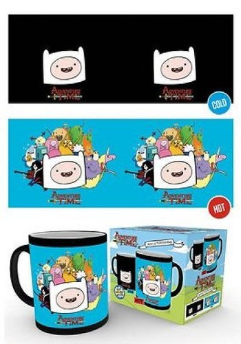 Adventure Time Characters - Heat Change Mug