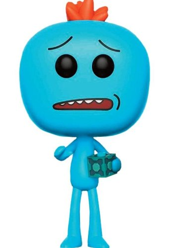 Pop Cartoons: Rick And Morty - Mr. Meeseeks With Meeseeks Box LE