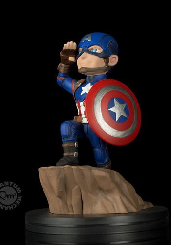 Marvel: Civil War - Captain America Q-Fig