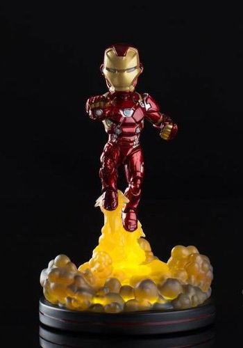 Marvel: Iron Man Light-Up Q-Fig