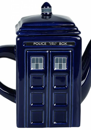 Dr. Who: Tardis Tea Pot