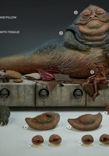 Star Wars: Jabba the Hutt and Throne Deluxe 1:6 scale Figure
