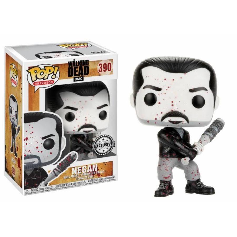 Pop! TV: The Walking Dead - Negan Black and White LE
