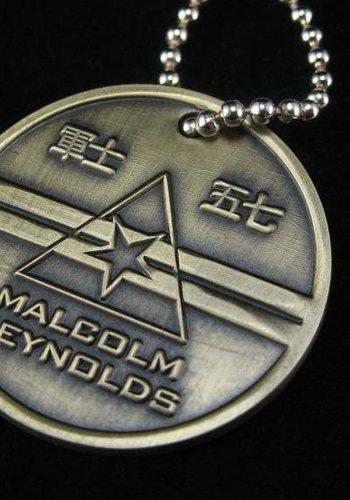 Malcolm Reynolds Dog Tags