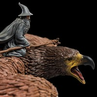 The Lord of the rings: Gandalf on Gwaihir