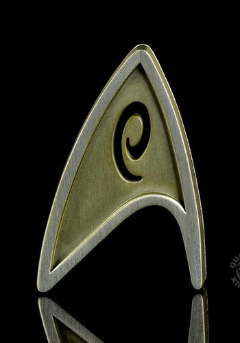Star Trek Beyond Magnetic Insignia Badge — Operations