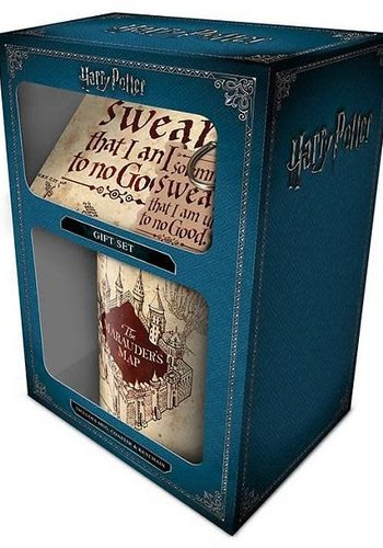 Harry Potter Marauders Map - Gift Set