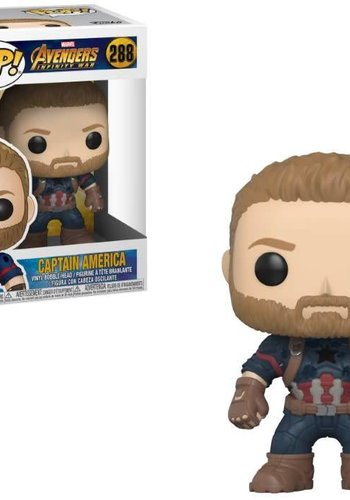 Pop! Marvel: Avengers Infinity War - Captain America