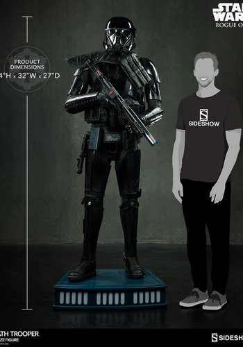 Star Wars: Rogue One - Death Trooper Life Sized Statue