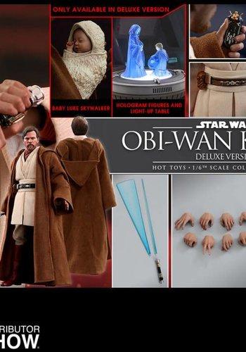 Star Wars: Revenge of the Sith - Deluxe Obi-Wan Kenobi 1:6 Scale Fig.
