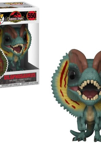Pop! Movies: Jurassic Park - Dilophosaurus