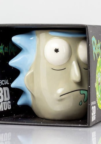 Rick and Morty Rick Sanchez - 3D Mug