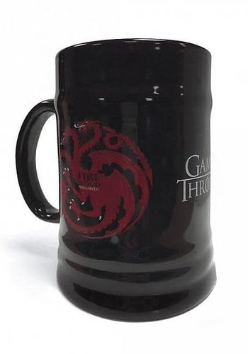 Game Of Thrones House Targaryen - Ceramic Stein