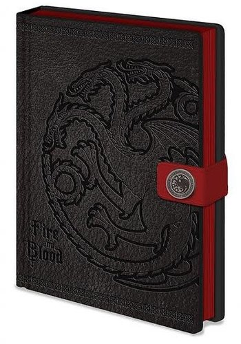 Game of Thrones Targaryen - Premium A5 Notebook