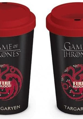 Game Of Thrones House Targaryen - Travel Mug
