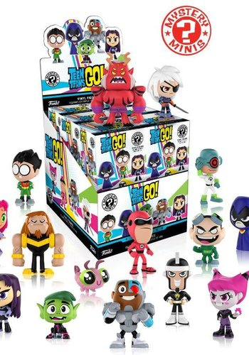 Mystery Mini : Teen Titans Go! PRIJS PER STUK