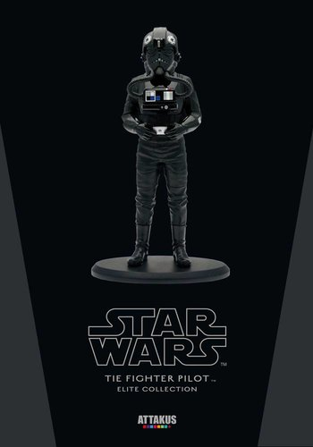 Star Wars: Tie Fighter Pilot 18 cm Statue Elite Collection