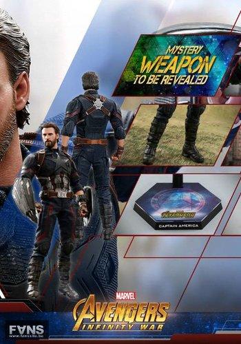 Marvel: Avengers Infinity War - Captain America 1:6 Scale Figure