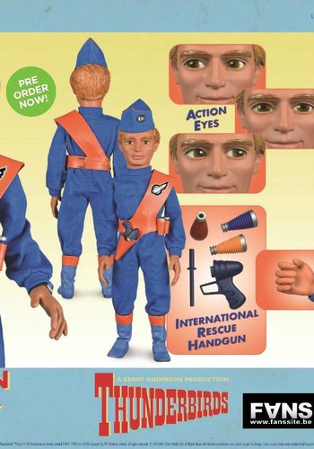 Thunderbirds: Gordon Tracy International Rescue LE 1:6 Scale Figure