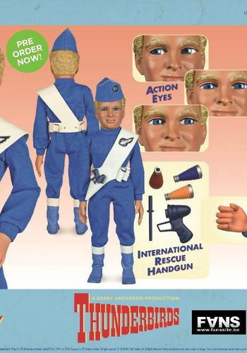Thunderbirds: Alan Tracy International Rescue LE 1:6 Scale Figure
