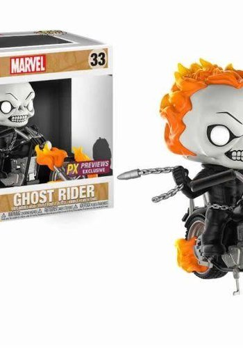 Pop! Rides: Marvel - Classic Ghostrider LE