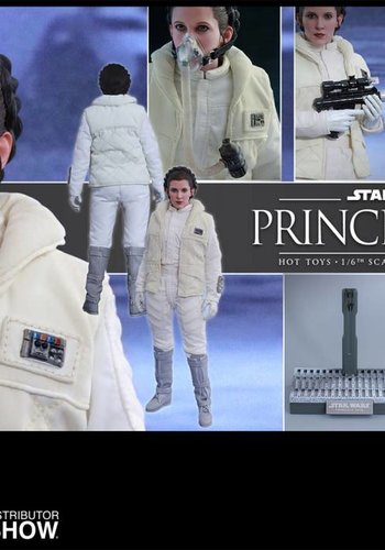 Star Wars: The Empire Strikes Back - Princess Leia 1:6 Scale Figure