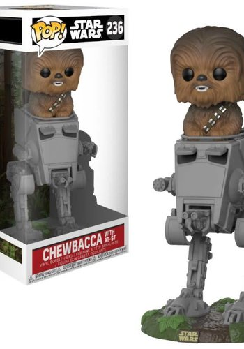 Pop! Star Wars: The last Jedi - Chewbacca in AT-ST