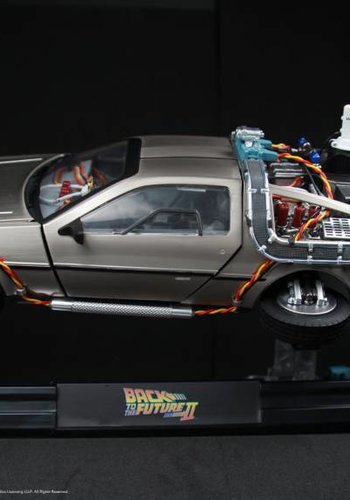 Back to the Future: DeLorean Time Machine Magnetic Levitating Version