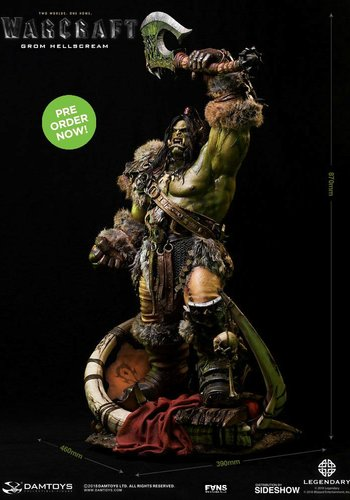 Warcraft Movie: Grom Hellscream Version 2 Statue