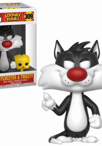 Pop! Cartoons: Looney Tunes - Vinyl Sylvester and Tweety