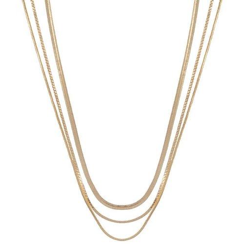 CLUB MANHATTAN Necklace Rebel gold