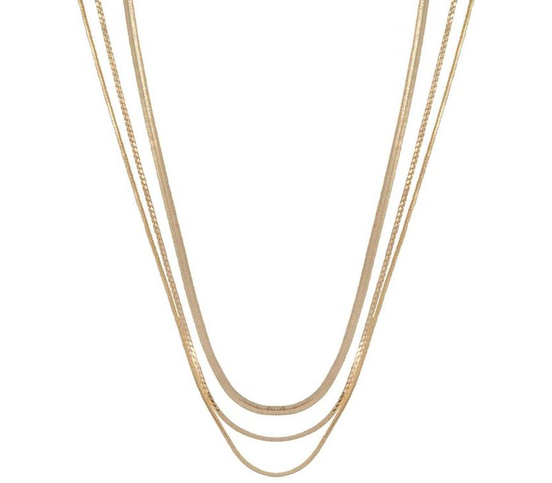 Necklace Rebel gold