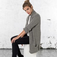 Cardigan Letty grey