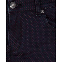 Pants Dot Jacquard black