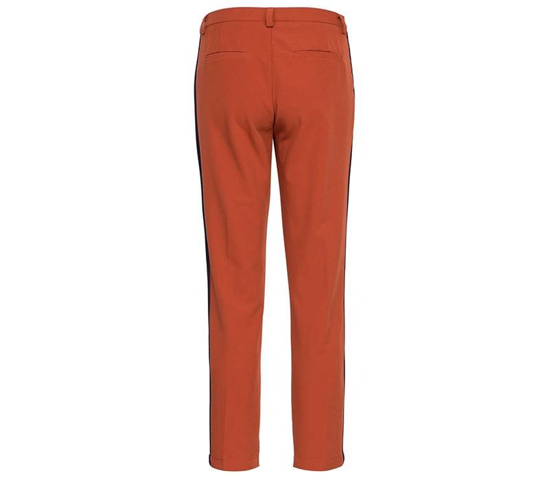 Pants Larna burned/stripe