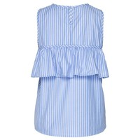 Top Beca blue/white