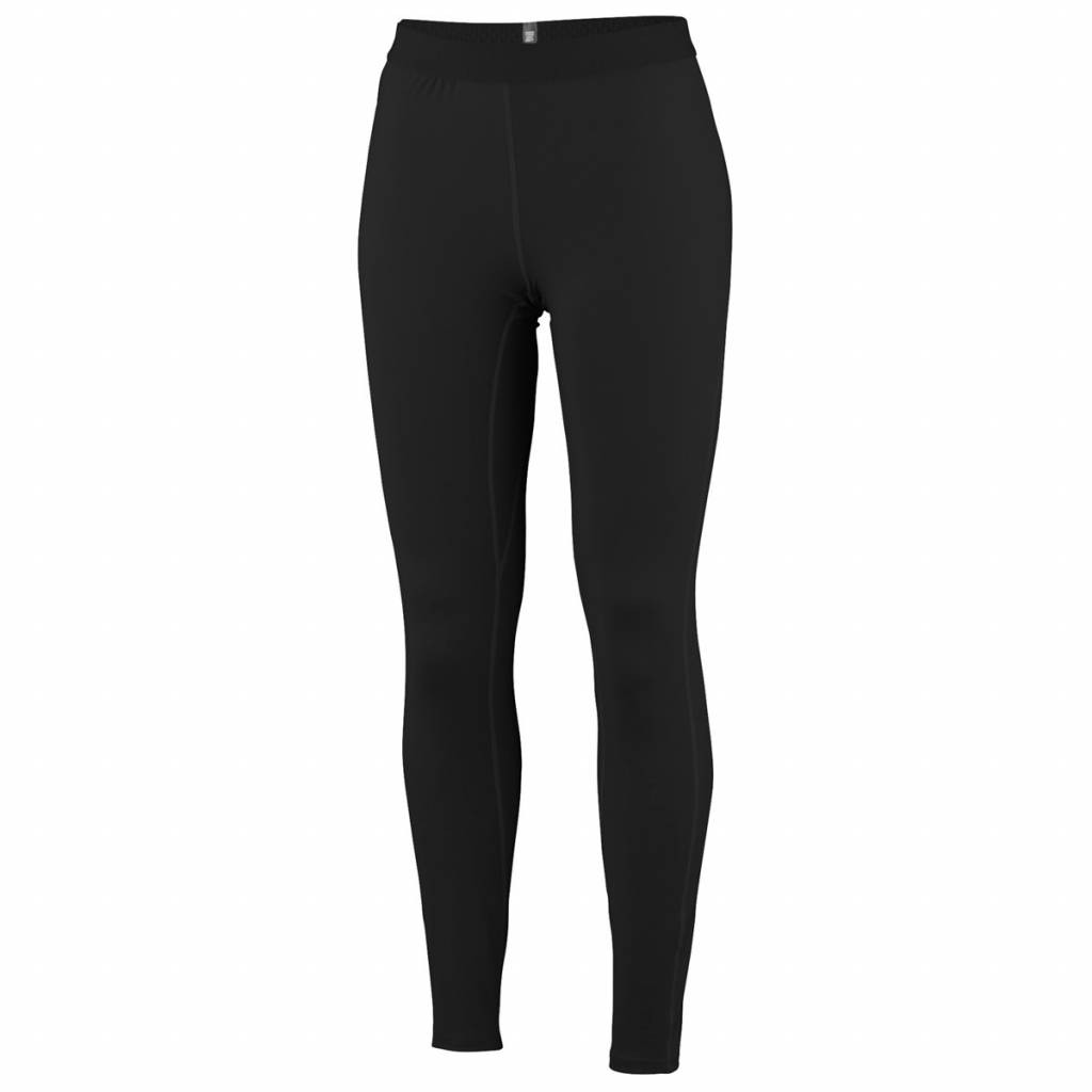 Ladies Midweight Long Tight Black