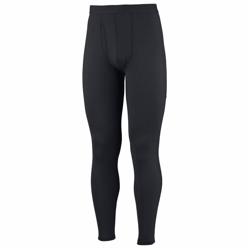 Mens Midweight Long Tight Black