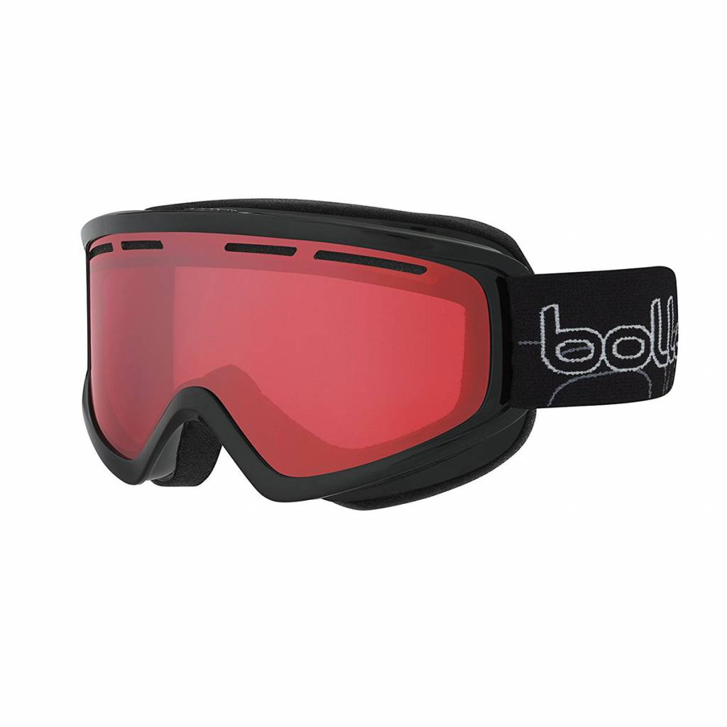 Bolle Adults Schuss Ski Goggle Shiny Black