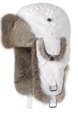 Barts Adults Real Fur Kamikaze White