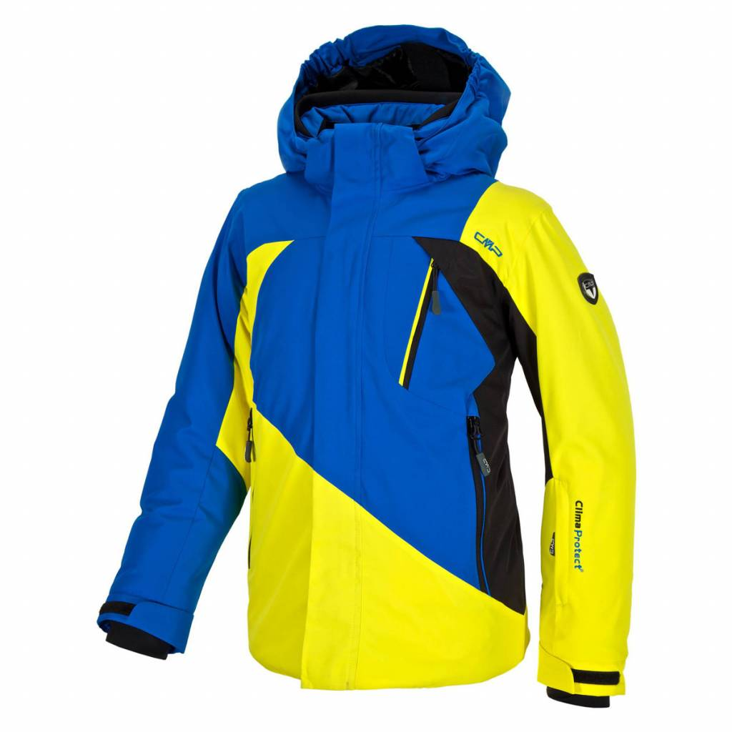 F.lli Campagnolo Boys Aero Ski Jacket Lemon