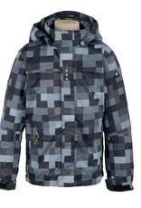 Ice Peak Boys Calvin Ski Jacket Black Check