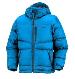 Boys Space Heater Down Jacket Compass Blue