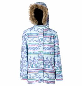 Rojo Girls Gypsy Girl Ski Jacket Aqua Crystal