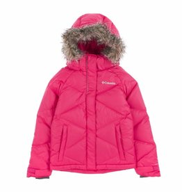 Girls Mini Lay D Down Puffer Bright Rose