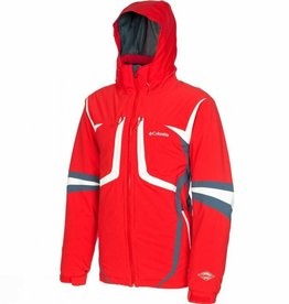 Mens Cubique II Ski Jacket Bright Red