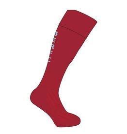 BERFC Junior Club Sock Maroon/Sky