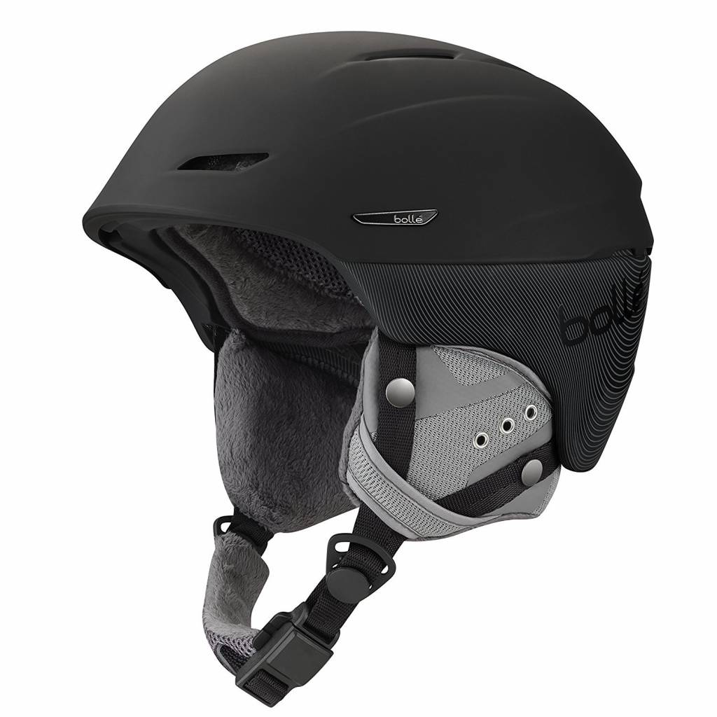 Bolle Adults Bolle Millenium Ski Helmet Soft Black & Grey