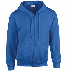 Dunstable Adults Full Zip Hoodie Royal